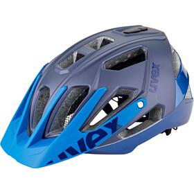 UVEX Quatro Helmet blue mat